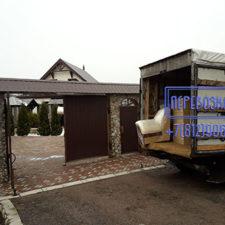 Дачная перевозка мебели с грузчиками СПб
