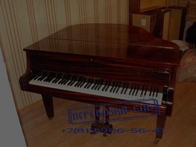 Перевозка кабинетного рояля в спб