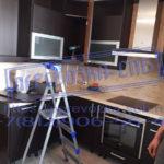 Первозка спб кухонной мебели и установка её
