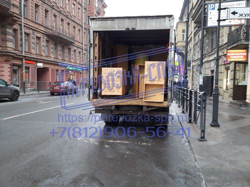 Перевозка спб кухонной мебели в центральном районе города