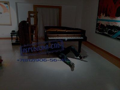Перевозка салонного рояля спб