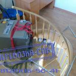 Перевозка сейфа спб весом 250 кг по винтовой лестнице