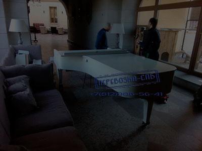 Перевозка концертного рояля спб