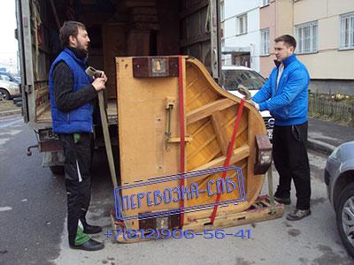 Перевозка рояля спб в Колтушах