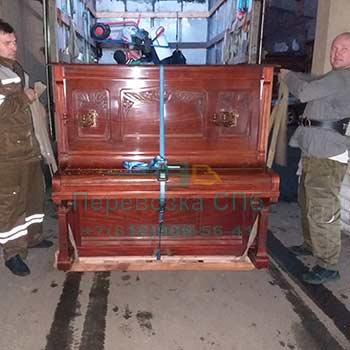 Перевезти пианино в СПб недорого с грузчики