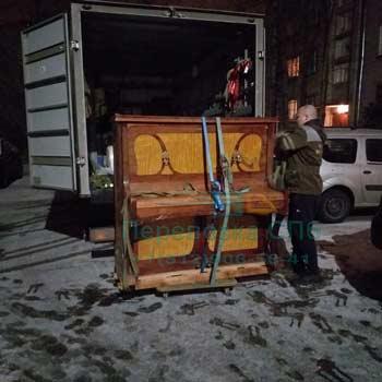 Перевозка старинного пианино в Пушкине с грузчиками