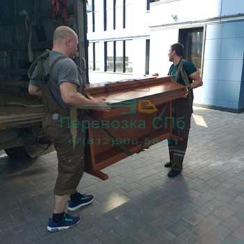 Перевозка пианино с грузчиками в СПб