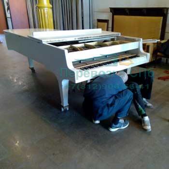 Перевозка концертного рояля с грузчиками в Пушкине
