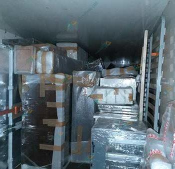 Укладка упакованной мебели в авто грузовго такси