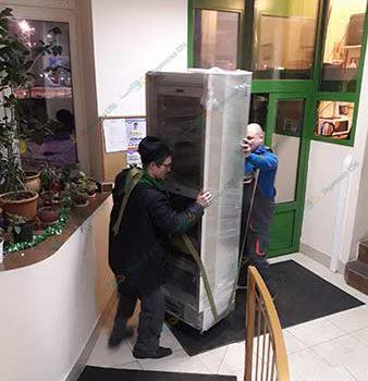 Перевозка винного холодильника с грузчиками