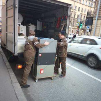 Перевозка офиса с техникой и сейфами