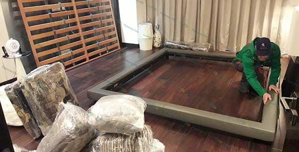 Разборка и сборка кровати после перевозки